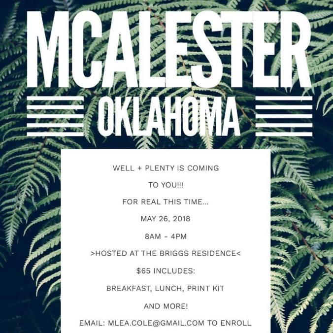 mcalester invite